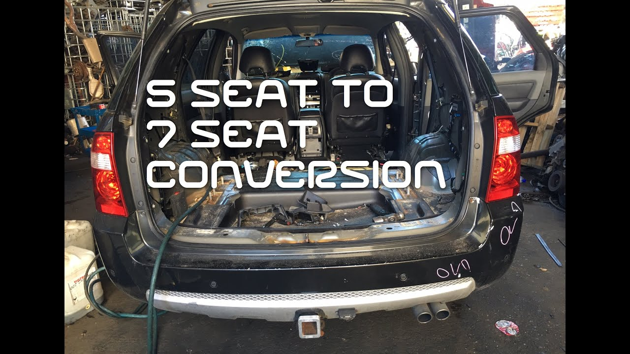 2016 Hyundai Santa Fe >> 5 seat to 7 Seater Territory Conversion - YouTube