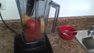 How to make Tomato Soup in the Vitamix.
