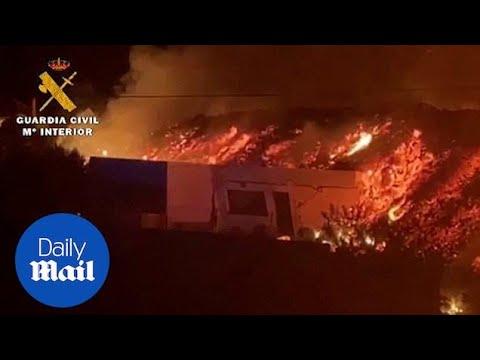 Spewing Volcano Shouldn't Put Off Visitors To La Palma, Says ...