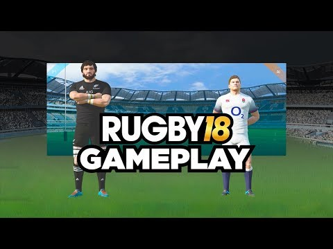 RUGBY 18 | ALL BLACKS VS ENGLAND GAMEPLAY!