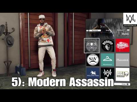 Top 10 Outfits in Watch Dogs 2