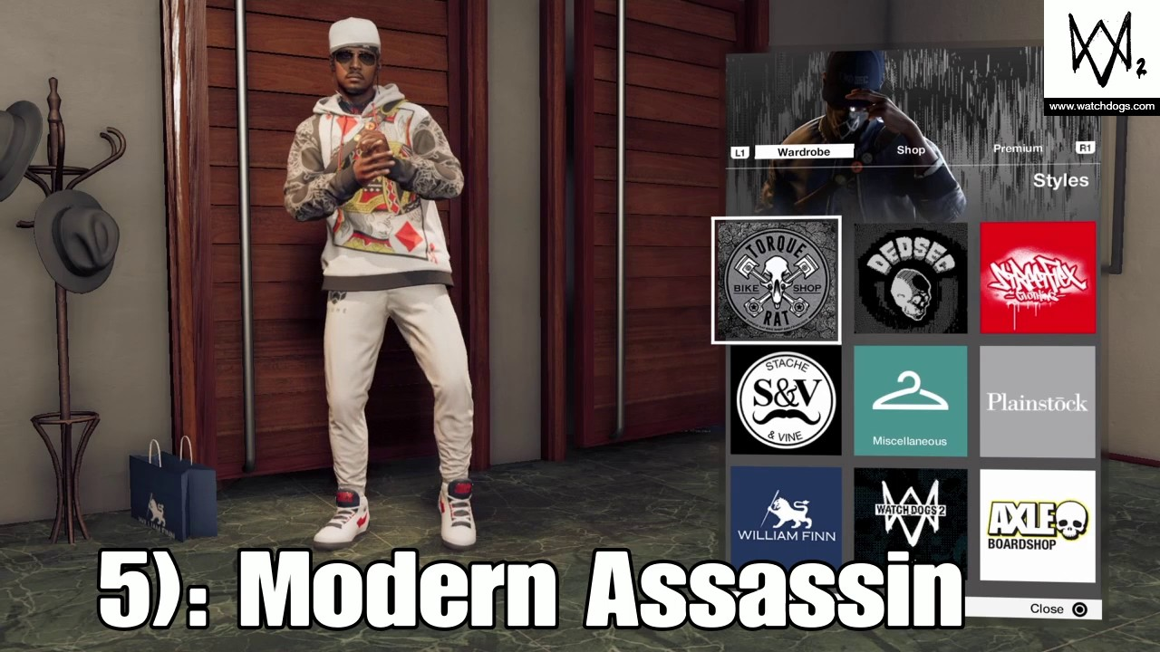 Top 10 Outfits In Watch Dogs 2 Youtube