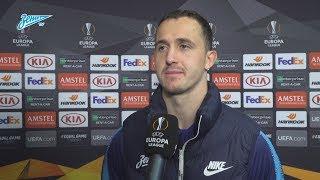 Андрей Лунев на «Зенит-ТВ»: «Одиннадцать ударов в створ — это круто для вратаря!»