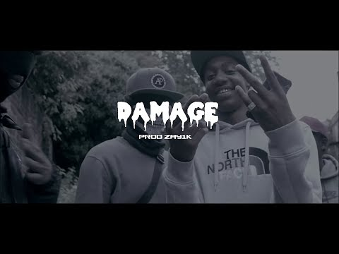 """DAMAGE"" Ciggy Black x Sleepy Hallow x Leeky G Bando x Sheff G (Trap/UK Drill Type Beat) 2018"