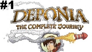 Deponia The Complete Journey - Deponia Walkthrough Part 1