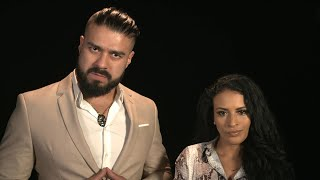 Andrade & Zelina Vega have a message for Apollo Crews: WWE Exclusive, June 26, 2019