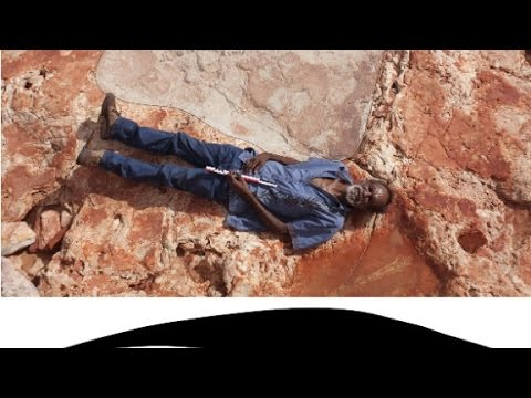 The World's Biggest Dinosaur Footprint Found! Watch to See it Here!