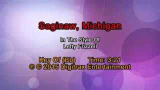 Lefty Frizzell - Saginaw, Michigan (Backing Track)