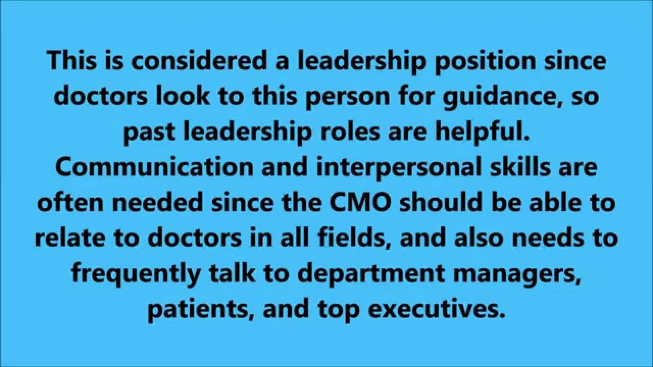 chief medical officer job description fortbendcountyjobsus