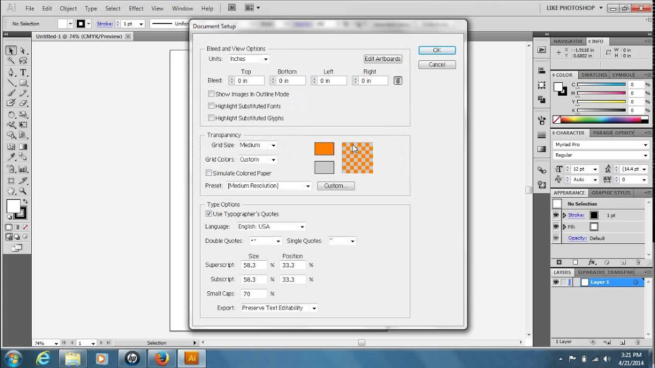 how to change the background color in adobe illustrator cs5 youtube