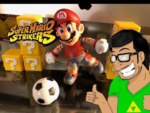 Super Mario Strikers (CUSTOM!!) world of nintendo toys Soccer mario custom toys