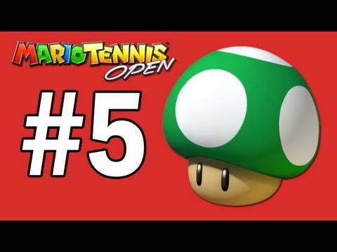 Mario Tennis Open Walkthrough: 1UP Mushroom Cup - Part 5
