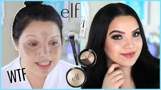 FULL FACE USING ONLY ELF COSMETICS!