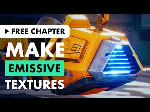 Make Emissive Textures in Substance Painter
