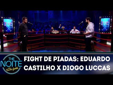 Fight de Piada: Eduardo Castilho x Diogo Luccas - Ep. 19 | The Noite (20/07/18)