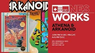 Arkanoid & Athena retrospective: Big boxes, big pain | NES Works #049