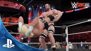 WWE 2K15 FEEL IT Trailer | PS4