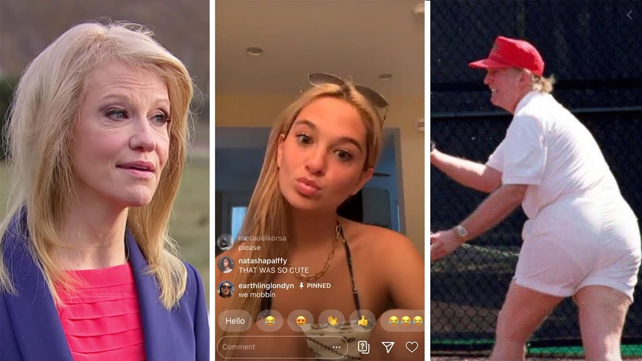 Kellyanne Conway Daughter Claudia Conway Says Her Mom Tells Her Trump Feeds Off Being A A Hole Youtube