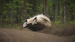 SM OK Auto Ralli 2017, Kouvola (action & mistakes)