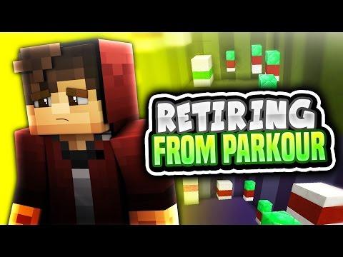 RETIRING FROM PARKOUR (Minecraft Parkour RAGE)