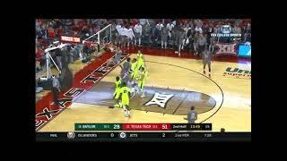Baylor vs Texas Tech Men's Basketball Highlights