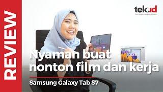 Samsung Galaxy Tab S7, nyaman buat nonton film dan kerja