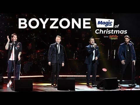 Boyzone – Picture Of You   at The Magic of Christmas 2018