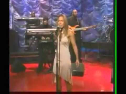 Tamia Stranger In My House live on Jay Leno 2001