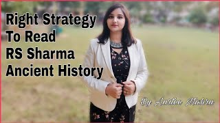 Right Strategy To Read R S Sharma Ancient History Book / Is selective Study Required ? UPSC CSE IAS