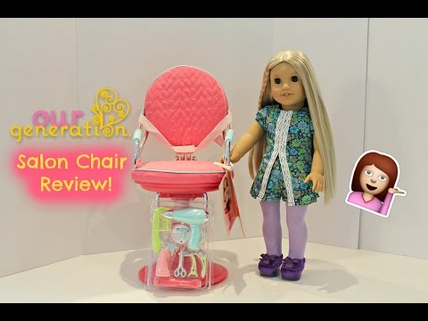 Our Generation Salon Chair Review | Perfect For 18inch Dolls