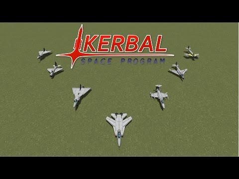 Fighter Jet Showdown (Part 3) - Historical Jets - Kerbal Space Program