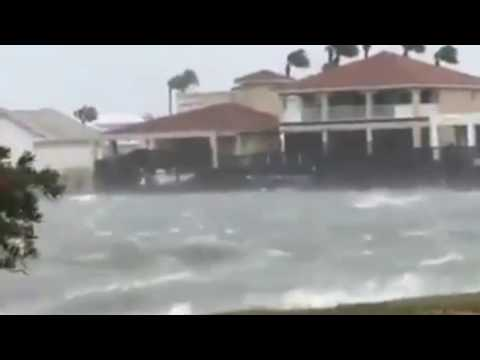 Hurricane Harvey before and after disaster compilation 2017