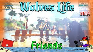 ROBLOX - Wolves' Life v2 BETA - ¡Amigos! #53 - HD