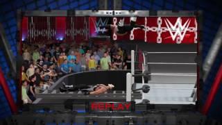 WWE 2K17 Extreme swanton