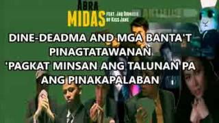 Repeat youtube video Abra   MIDAS  Lyrics  feat  Jaq Dionisio