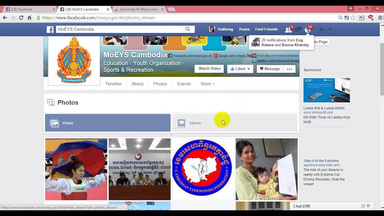 Download Whole Facebook Album Mac Peatix