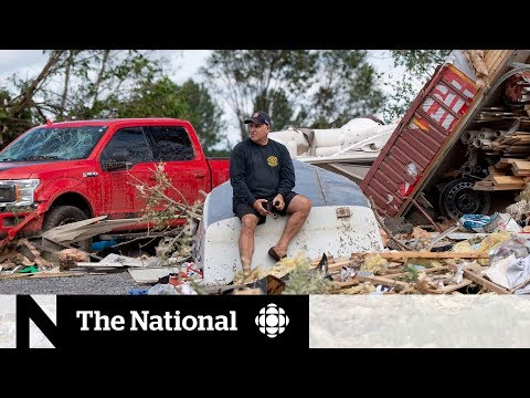 Twin tornadoes flatten homes in the Ottawa-Gatineau region