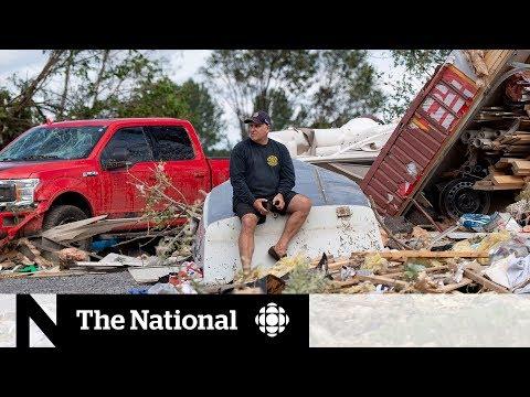 Twin tornadoes flatten homes in the Ottawa-Gatineau region