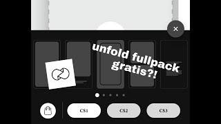 Gambar cover UNFOLD FULLPACK GRATIS?! (CS1-CS3)