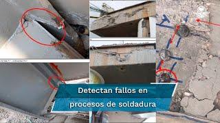 Empresa DNV detecta seis deficiencias en  construcción de  Línea Dorada; destaca soldaduras mal ejecutadas, falta de pernos,  distintos tipos de concreto y escasa supervisión