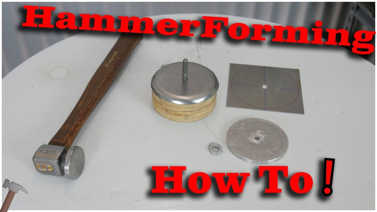 How To Hammer Forming Shaping Metal With Hand Tools
