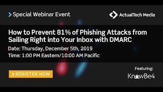 How to Prevent 81% of Phishing Attacks from Sailing Right into Your Inbox with DMARC