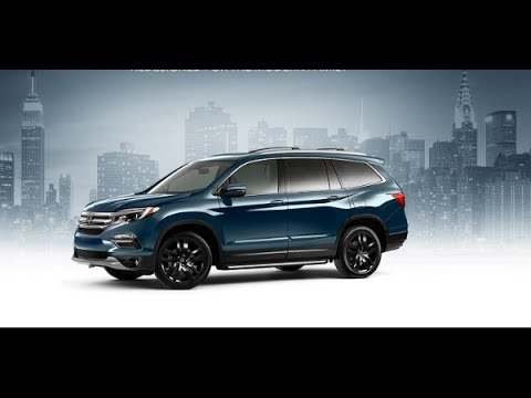 2017 Honda Pilot Elite - Redesign, Review - YouTube