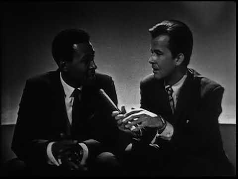 American Bandstand 1967- Interview Marvin Gaye