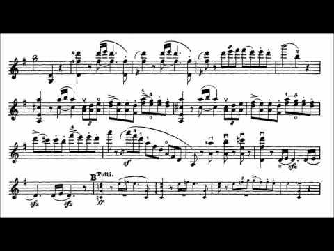 Bruch, Max mvt2(end)+3 1st violin concerto