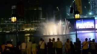Burj Khalifa Fountains ~ (Elissa - Aa Bali Habibi)