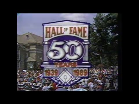 ESPN Complete Broadcast: 1989 HOF Induction Ceremony