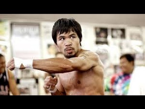 Manny Pacquiao COMPLETE Conditioning Workout in Macau, China! vs Brandon Rios