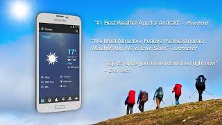 1Weather: Widget Forecast Radar and live updates   Android App screenshot 2