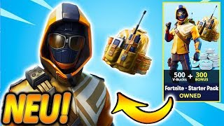 NEW FORTNITE STARTER PACK COMES!! ❄️🔥 | NEW BRAINIAC SKIN & SENSE!🧟| Fortnite Battle Royale